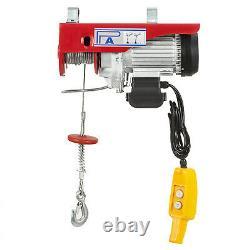 VEVOR 1100Lbs Electric Hoist Winch Lifting Engine Crane Overhead Lift Wire Moto