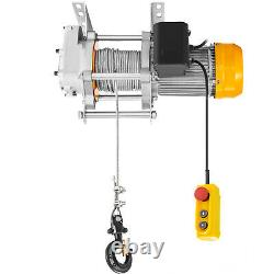 VEVOR 1760Lbs Electric Hoist Winch Lifting Engine Crane Lift Hook with Remote