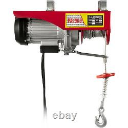 VEVOR 2200Lbs Electric Hoist Winch Lifting High Carbon Cable Heavy Duty