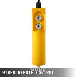 VEVOR 880Lbs Electric Wire Hoist Winch Engine Crane Overhead Lift Remote Control