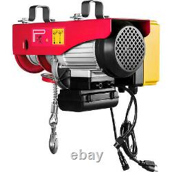VEVOR Electric Hoist 110V Electric Winch 1100LBS with Wireless Remote Control