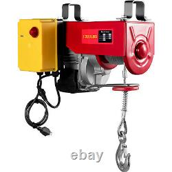 VEVOR Electric Hoist 110V Electric Winch 1320LBS with Wireless Remote Control