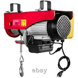 VEVOR Electric Hoist 110V Electric Winch 2200LBS with Wireless Remote Control