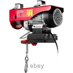 VEVOR Electric Hoist 110V Electric Winch 440LBS with Wireless Remote Control