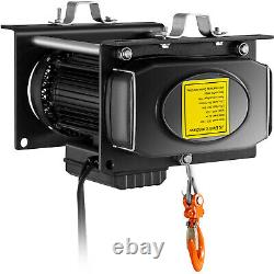 VEVOR Electric Hoist Electric Winch 1100/2200 lbs with Wired Remote Control Auto