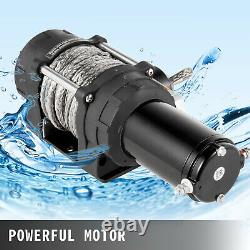 VEVOR Electric Winch 6000LBS Truck Winch 12V Power Winch Steel Cable UTV/ATV