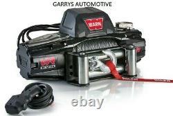WARN 103250 VR EVO 8 8000lb Winch 12V Roller Fairlead 90' 5/16 Wire Cable Rope