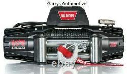 WARN 103254 VR EVO 12 12000lb Winch 12V Roller Fairlead 85' 3/8 Steel Cable Rope