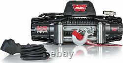WARN 103254 VR EVO 12 Standard Duty Winch with Steel Cable 12,000 lb Capacity
