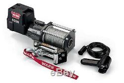 WARN 12 Volt DC Powered Electric Utility Winch 4,000-Lb. Capacity, Galvanized