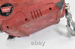 WARN Pullzall 885000 Portable Electric Winch, HP, 120 VAC 1,000 lb Capacity
