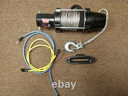 Warn 101040 VRX 45-S Powersport Winch with Synthetic Rope 4500 lbs FREE SHIPPING