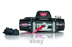 Warn 103252 VR EVO 10 Winch 10000 lb 94 ft Wire Rope 12 Volt Wired Remote