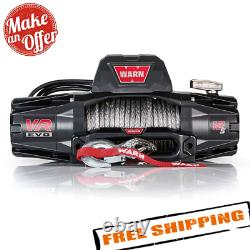 Warn 103255 VR EVO 12-S 12,000 lb Winch with Synthetic Rope for Truck, Jeep, SUV