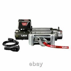 Warn 28500 9,000 lbs XD9000, Premuim Self-Recovery Electric Winch with Wire Rope