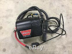 Warn 8000 LB 8274 Model Winch with cable and New Controls