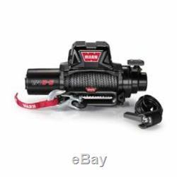 Warn 96805 VR8-S Winch, Electric, 12V, 8,000 lbs, Hawse Fairlead, 90 ft