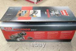 Warn M12000 Model 17801 12000lb Truck Winch Roller Fairhead 125' 3/8 Wire Rope