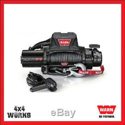 Warn Tabor 10-S Electric Winch 10,000lb Synthetic 4x4 Off Road + Remote Control