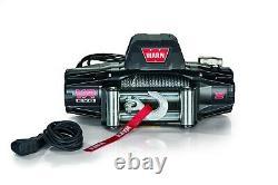 Warn VR EVO Winch 103254 12 Volt 12,000 lbs 85' of 3/8 steel cable w Remote