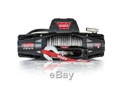 Warn Vr Evo 10-s Standard Duty Winch Synthetic Rope Aluminum Fairlead 10000 Lb