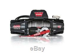 Warn Vr Evo 8-s Standard Duty Winch Synthetic Rope, Aluminum Fairlead 8000 Lb
