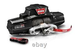 Warn Zeon 10-s Platinum Ultimate Performance Winch Synthetic Pro Rope 10000 Lb