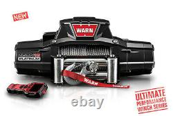 Warn Zeon Platinum 12,000lb(5443kg) 12v 4x4 Winch Steel Cable