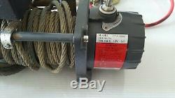 Warrior Spartan 12000lb 12v Electric Winch, steel Rope, heavy Duty, 4x4, recovery