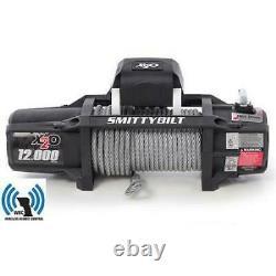 X2O 12 Gen2 12,000 lb Winch Waterproof Smittybilt for Jeep Truck Offroad 97512