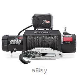 XRC 9.5 Comp Gen2 9,500 lb Winch IP67 Synthetic Rope Smittybilt fits Jeep Truck