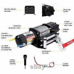 ZEAK Advanced 5500 lb. Electric Winch Off Road Automatic Powersports Winch AT