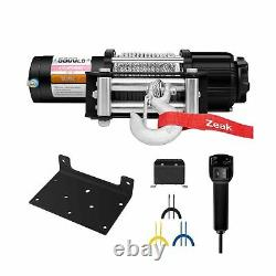 ZEAK Advanced 5500 lb. Electric Winch Off Road Automatic Powersports Winch, A