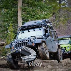 10000lbs Electric Winch Waterproof Truck Trailer 98.5ft Steel Rope Off-road 4x4