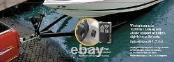 Câble en acier électrique de treuil de remorque de 10000lbs 12v pour le noir de bateau de 24ft