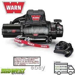 103254 Warn Vr12 Evo 12 000 Lb Treuil Électrique Auto-récupéré Avec 80 Pieds De Corde De Fil