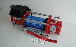 11000lb Kit De Treuil Électrique De Récupération 12v Hors-route Runva Wireless Avec Synthétique