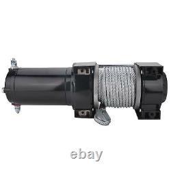 12v 3500lbs Électrique De Récupération Treuil Heavy Duty Camion Remorque À Distance Corde De Contrôle