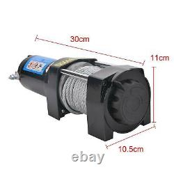 12v Electric Recovery Winch 3500lb Wireless Caravan Hoist Heavy Duty Trailer Royaume-uni