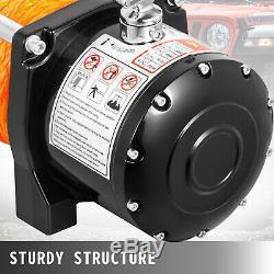 13000lbs Électrique De Récupération Winch Truck Suv 4 Roues Motrices À Distance Durable Contrôle Synthétique