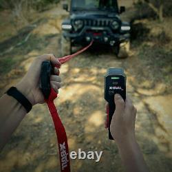 13000lbs Synthétique Rope Winch Imperméable Ip67 Avec Télécommande Sans Fil