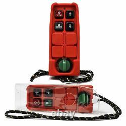 1540 Lb. Grue Palan Électrique Suspendu Avec Télécommande Sans Fil Fo-4406