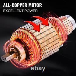 15500lb Electric Winch 12v Câble Synthétique Hors Route Atv Utv Remorque De Remorquage