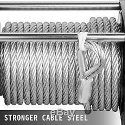18000lbs Treuil Électrique 12v Câble D'acier Hors Route Vtt Utv Camion De Remorquage Remorque