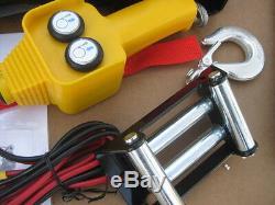 2 000 Lb 24v Treuil Électrique Spécial 24 Volts CC Commercial, Voiturette De Golf, Militaire