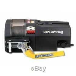 3000lb (1.5tons!) Électrique De Récupération Treuil Superwinch S3000 Synthetique Corde