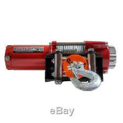 3500 Lbs. Capacité De 12 Volt Treuil Électrique Avec 42 Ft. Câble D'acier Super Deluxe
