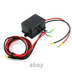 3500lbs 12v Treuil Électrique Kit Vtt Câble D'acier 1 Pcs Sans Fil À Distance 4 Roues Motrices De Contrôle
