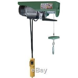 440 Lbs. Hoist Câble Fil Électrique Ascenseur Garage Pont Roulant Boutique Auto Winch