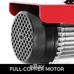 440lbs Électrique De Levage Treuil De Levage Moteur De La Grue Heavy Duty Garage Automobile
